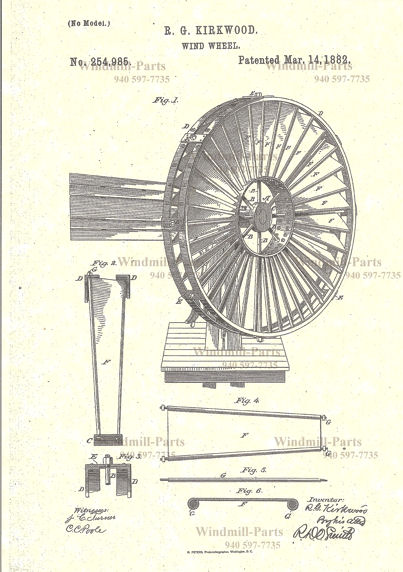 copy of 1891 Details about  /Perkins Wood Wheel Windmill Catalogue