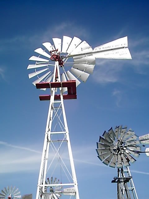 components of a windmill Small wind turbines for homes & businesses how do they work the wind turbine, which is installed on top of a tall tower, collects wind energy and converts it into.